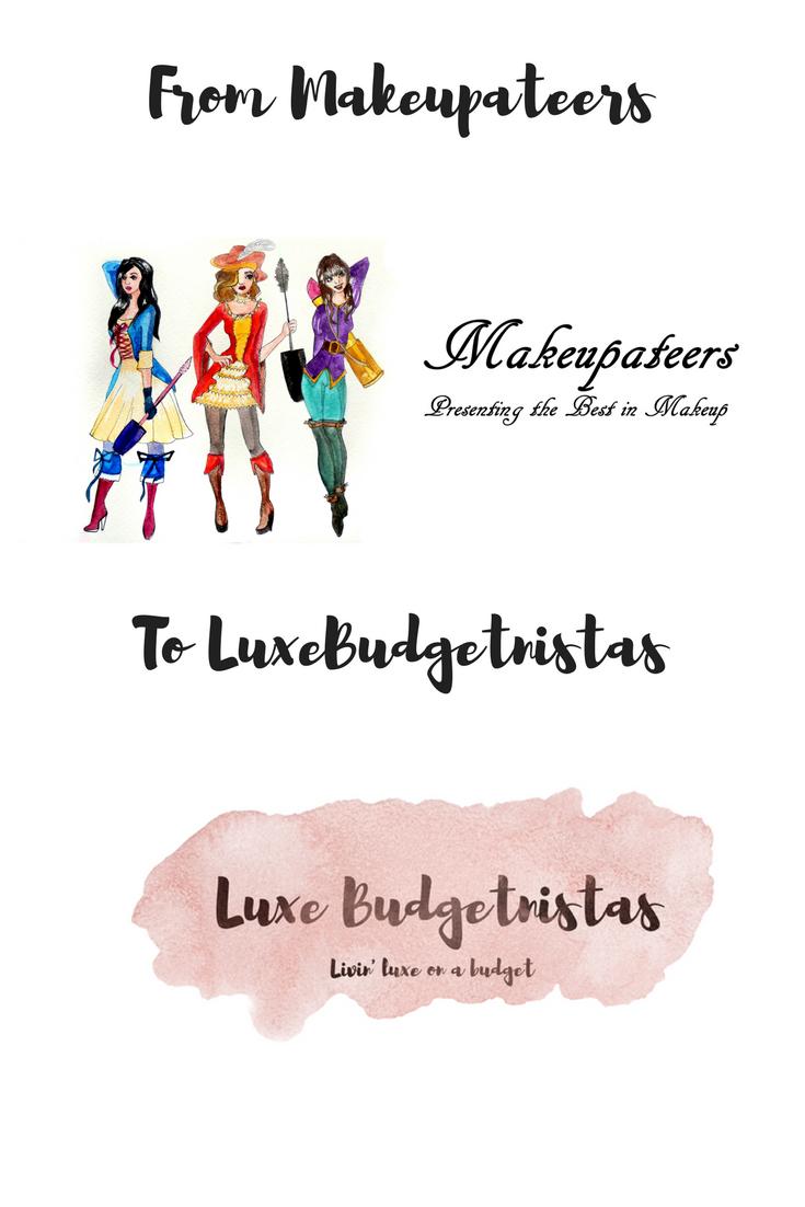 makeupateers-luxe-budgetnistas-rebranding-story